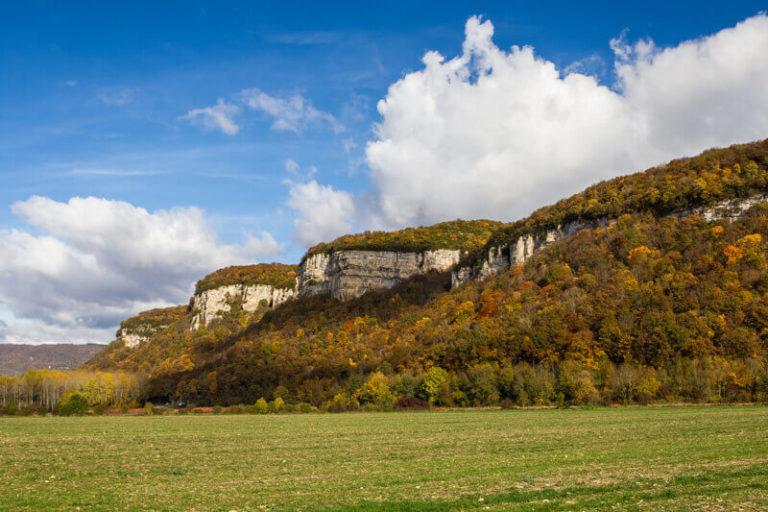 La Balme les Grottes - Les falaises