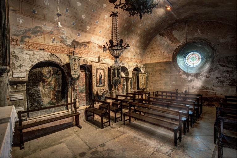 La Balme les Grottes - la Chapelle des grottes