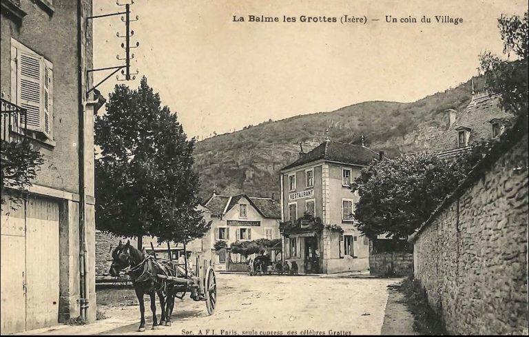 La Balme les Grottes - le village