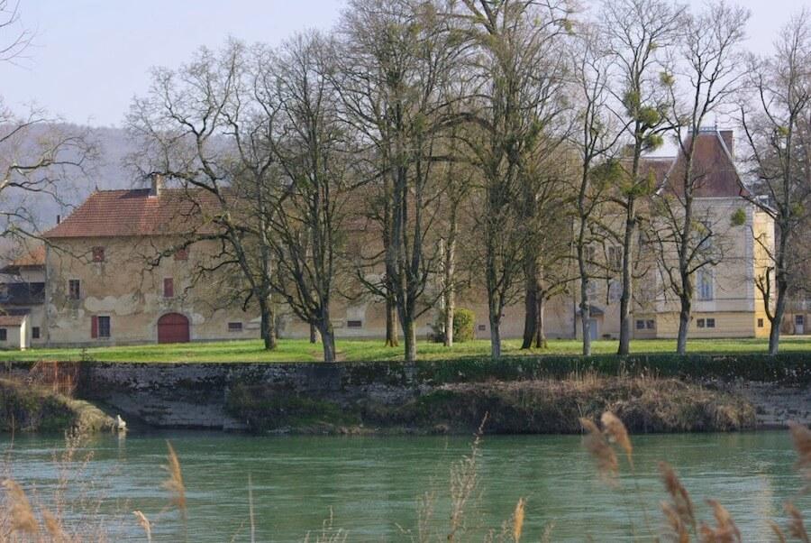 La Balme les Grottes -Château de Salette