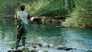 Pêche en eau douce: l'exercice pour l'année 2021