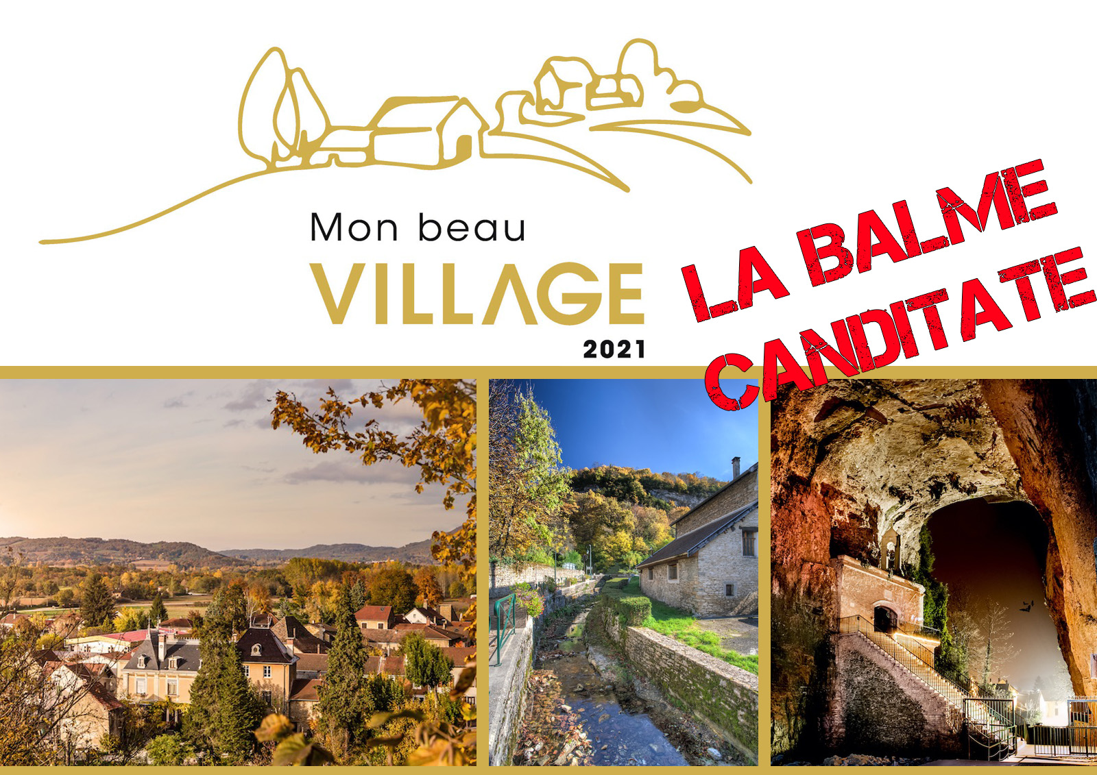 You are currently viewing Mon beau village 2021: La Balme candidate!