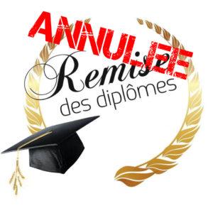 Annulation de la remise des diplômes du Bac