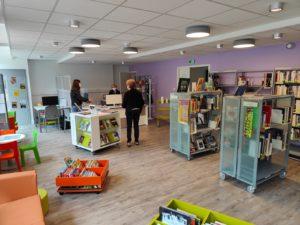 Read more about the article La Bibliothèque municipale de nouveau ouverte!