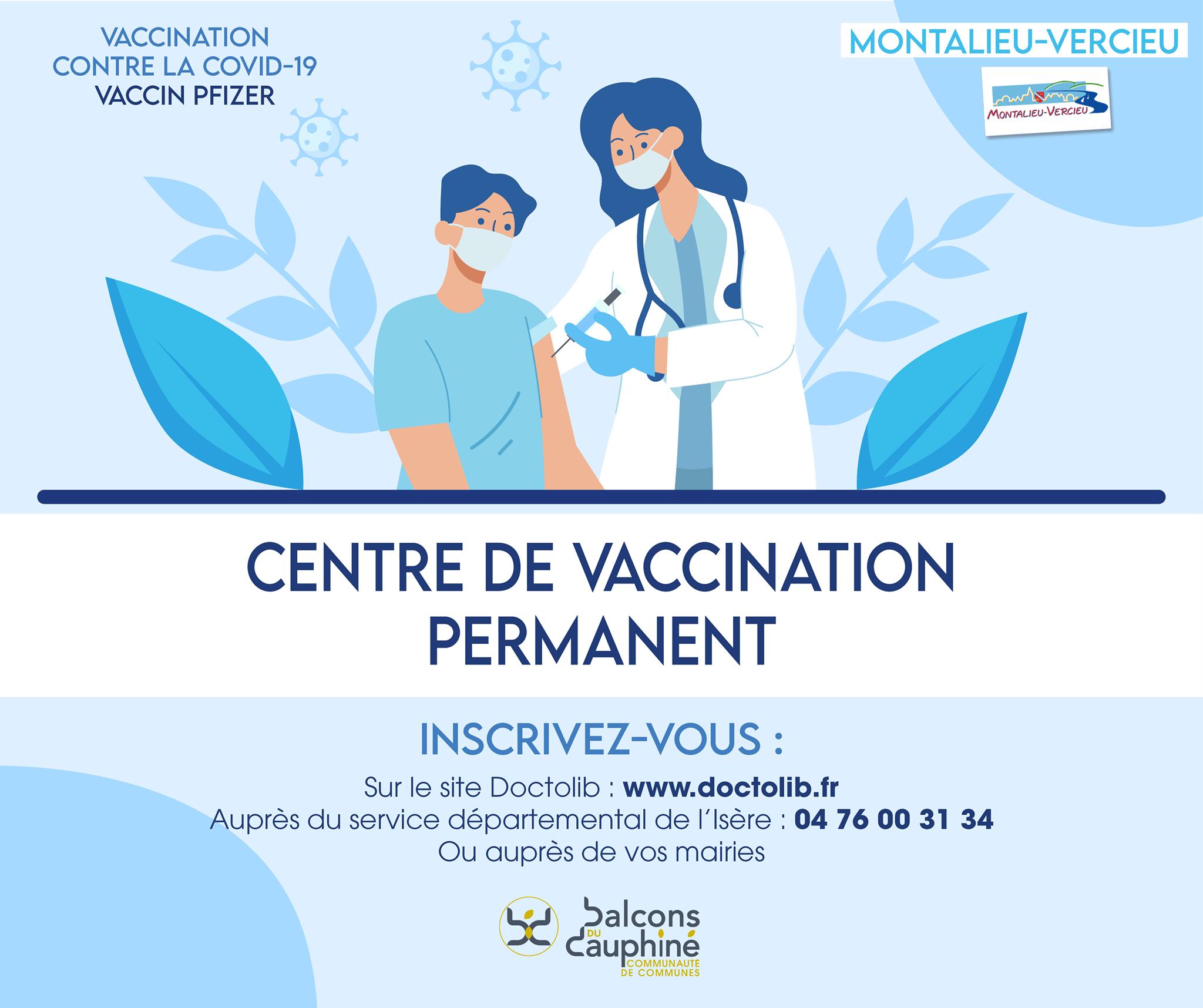 You are currently viewing Vaccination Montalieu : désormais ouverte à l'ensemble de la population